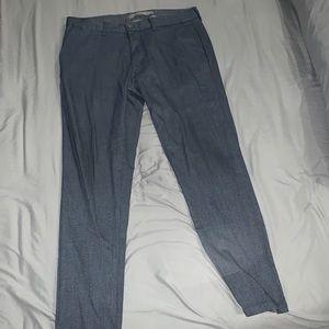 Zara men slacks worn once 31x30